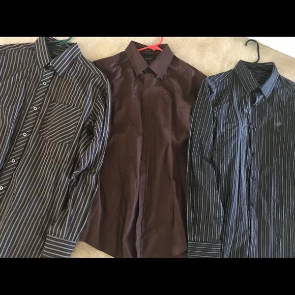 Sean John Other - Sean John Casual Button Up Down lot sz M dress new
